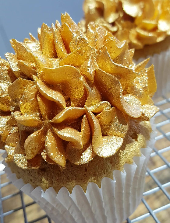 Gold Buttercream