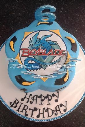 beyblade cake