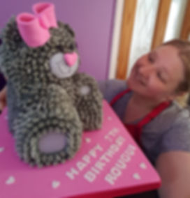 me 2 you bear cake by rachels enchanting cakes, chesterfield