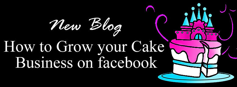 How to grow your cake business on facebo