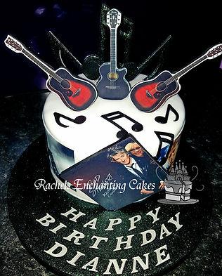 rod stewart birthday cake