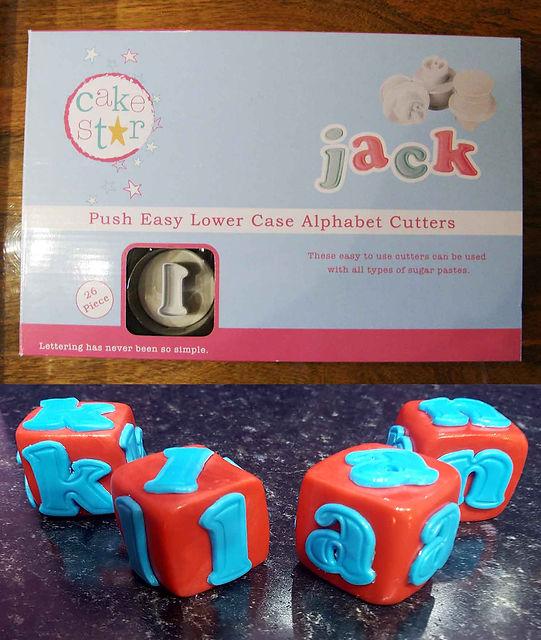 Cake Star Alphabet cutters