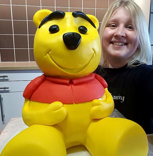 winnie the pooh cake tutorial