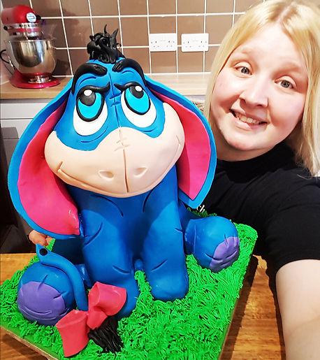 eeyore cake tutorial