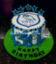 Sheffield Wednesday Football Themed Birthday Cake