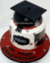 Graduation Cake by Rachels Enchanting Cakes , Sheffield