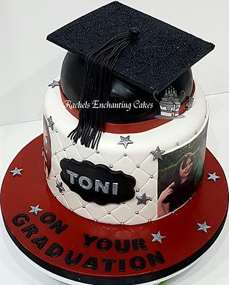Graduation Cake by Rachels Enchanting Cakes , Sheffield