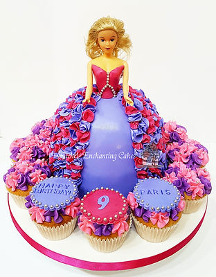 barbie cake by rachels enchanting cakes , chesterfield
