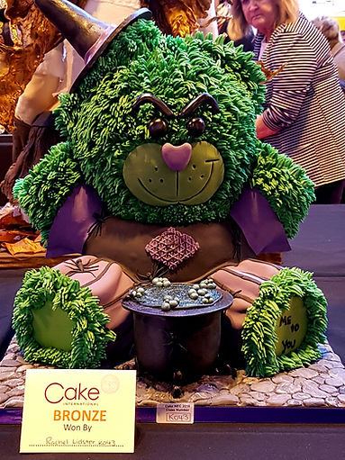 Cake International Bronze Winner Me 2 You Bear Cake Chesterfield