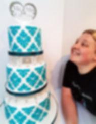 Teal Damask Wedding Cake (3).jpg