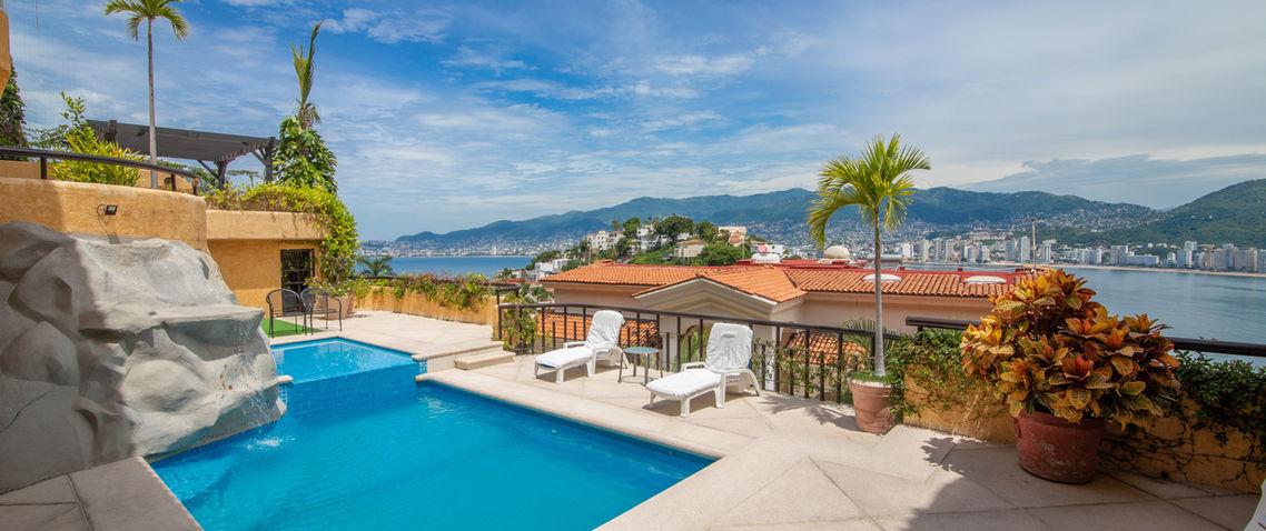 Casa Costa del Sol Acapulco-Renta casa e