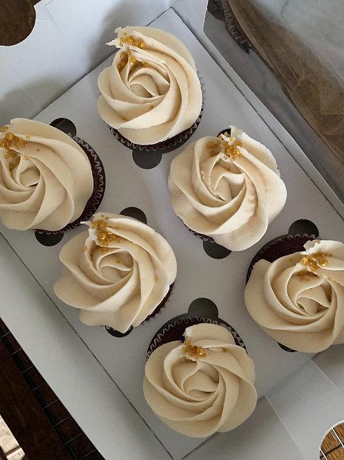 *6 Vegan Cupcakes