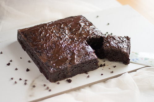 *Vegan Classic Chocolate Brownies