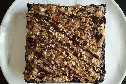*Vegan German Chocolate Brownies