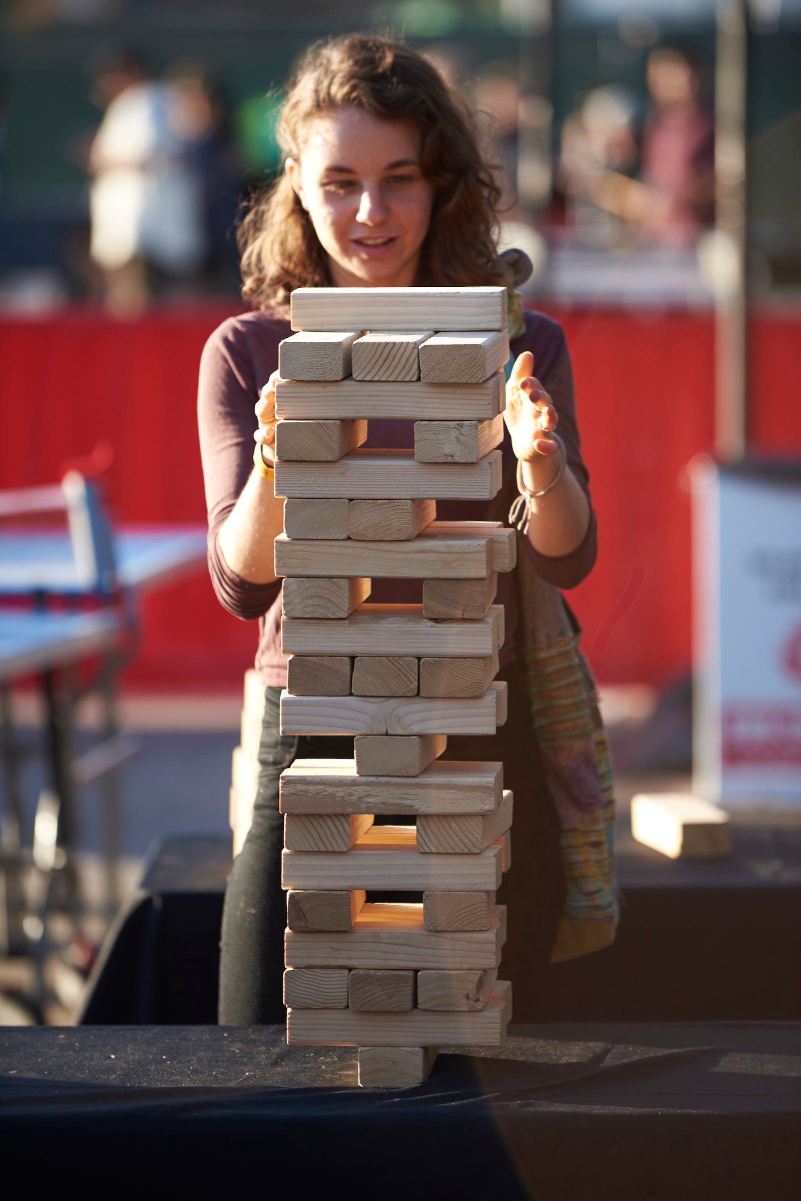 Jenga at VSF Nights
