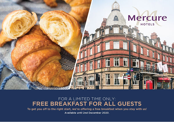 Cairn Group Breakfast Offer - Mercure Do