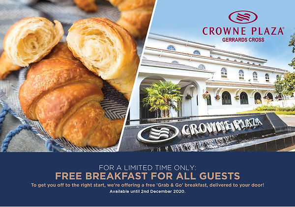 Cairn Group Breakfast Offer - Crowne Pla