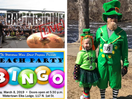 Run, dance, play BINGO, celebrate St. Paddy's-let's have some fun this month!