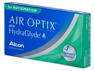 Air Optix plus HydraGlyde for Astigmatism 6pack