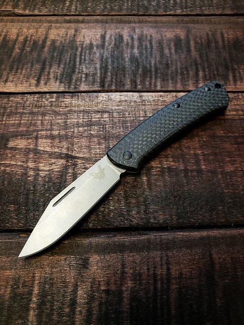 Benchmade 318-2 Proper Carbon Fiber/FDE Slip Joint