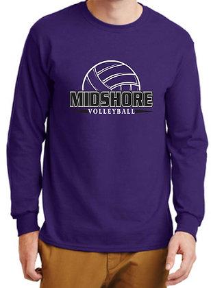Long Shore Sleeve T-Shirt - Design 1