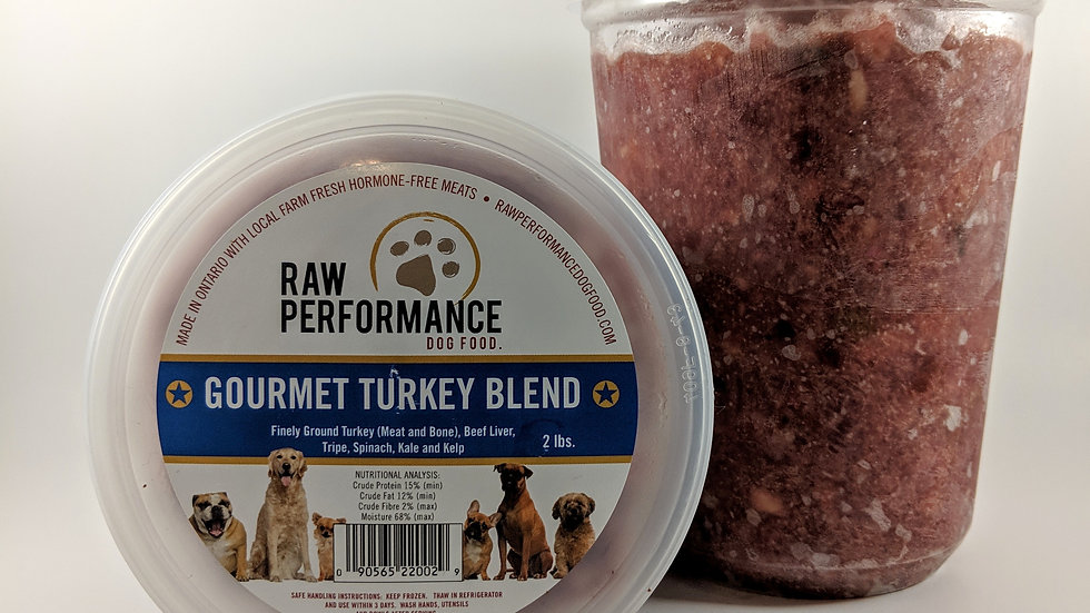 Gourmet Turkey Blend 2 LBS