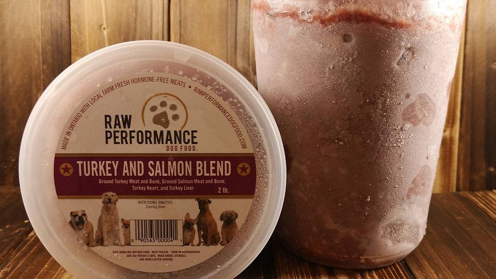 Turkey & Salmon Blend