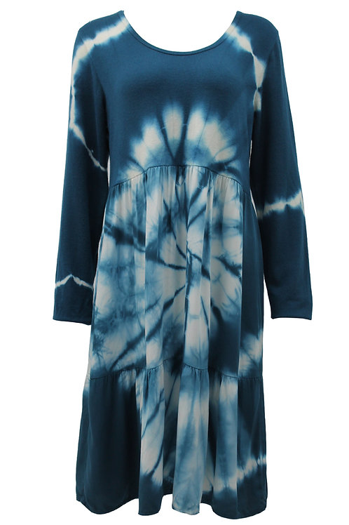 Langenlook Tie Dye Tunic Dress Fits size 10-16
