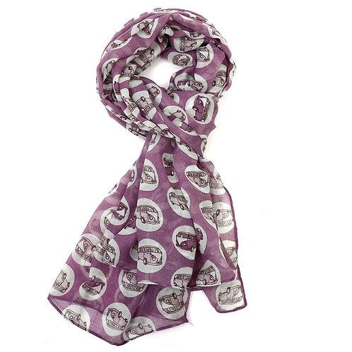 Camper van bus scarf
