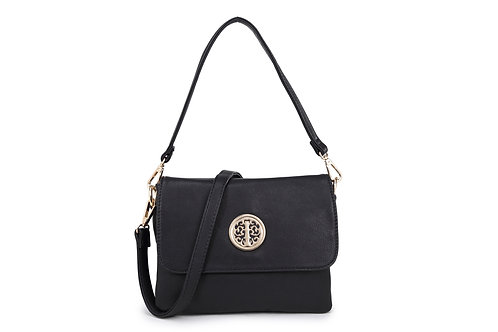 Ladies multi shoulder and crossbody bag