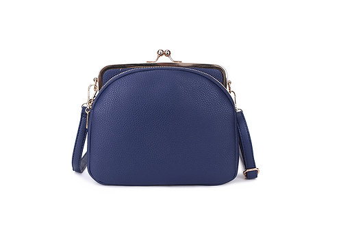 Pink clip purse bag