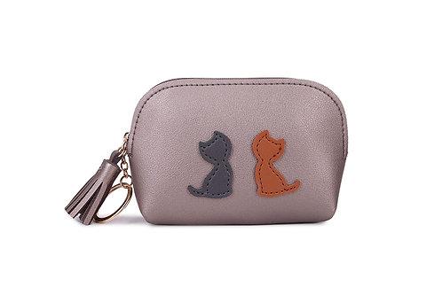 Tassel cat purse