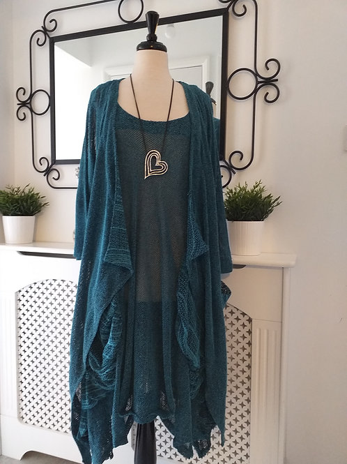 Florence Collection Turquoise Fits UK 18-24