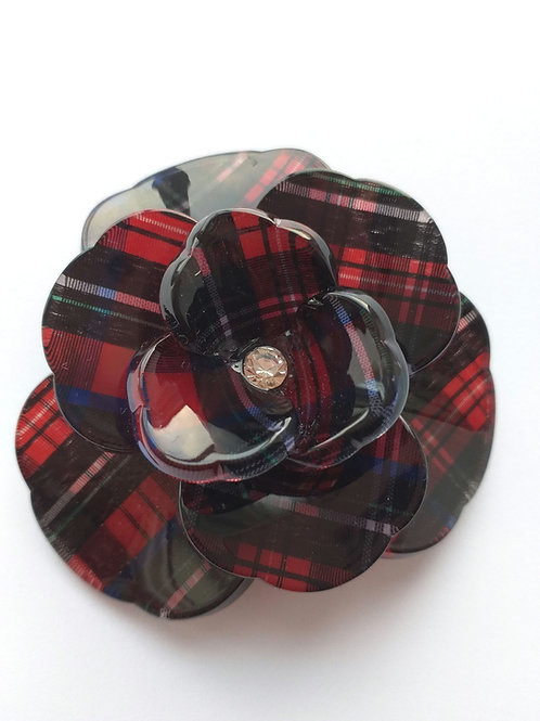 Tarta Floral acrylic brooch