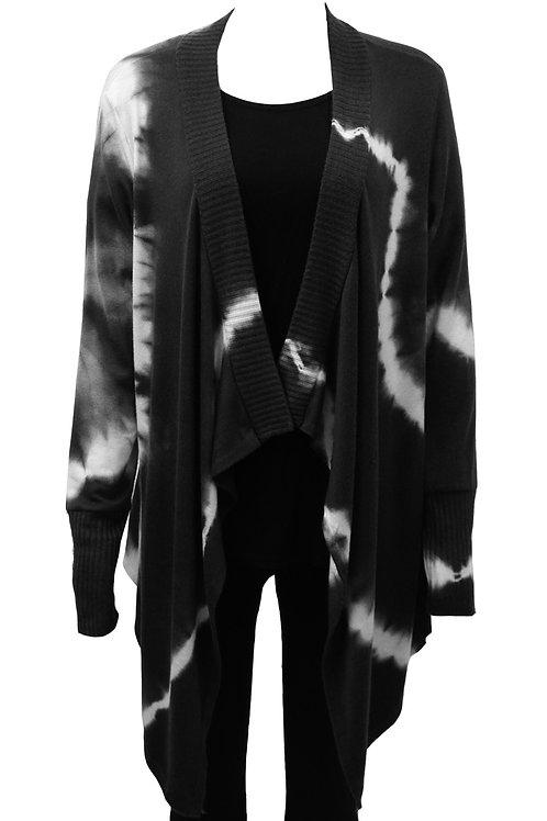 Dark shades waterfall cardigan Fits sizes 12-16
