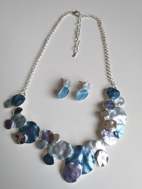 Clara Blues Necklace Set