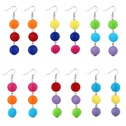 Colour Smartie Earrings