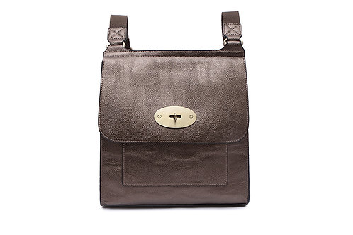 Twist Lock Crossbody Bag