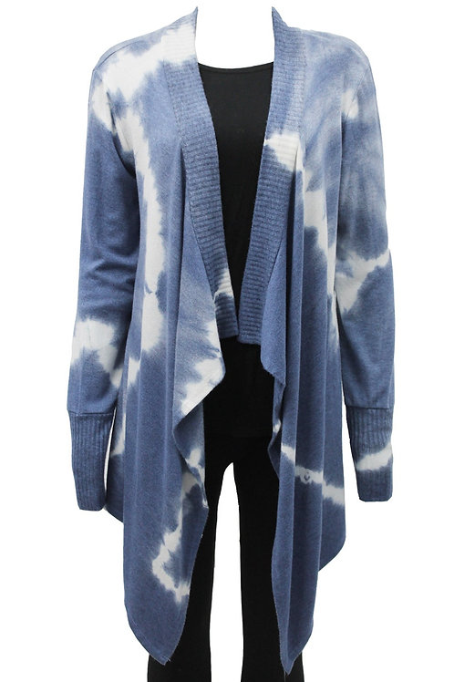 Blue shades waterfall cardigan Fits sizes 12-16