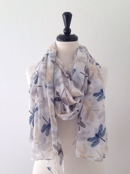 Chic Dragonfly Scarf