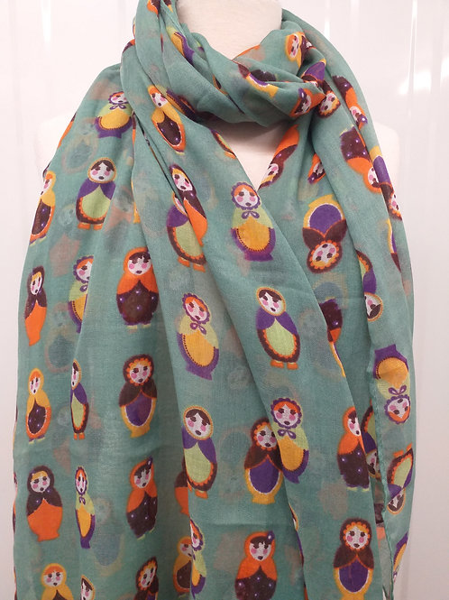 Russian doll scarf