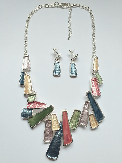 Barcelona Necklace Set multicolored
