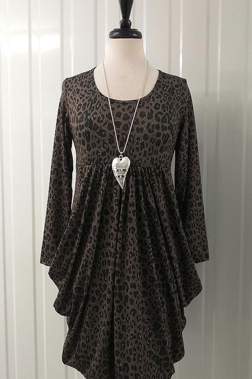 Magic Dress Leopard Print Fits UK 8-12