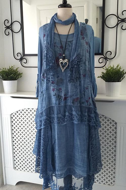 Floral Langenlook dress Fits UK 12-18