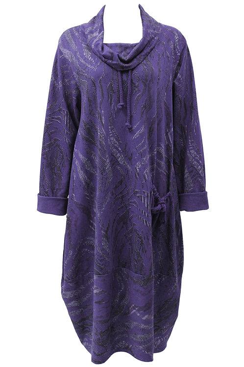 Langenlook Italian Cowl neck dress one size Fits 14-22