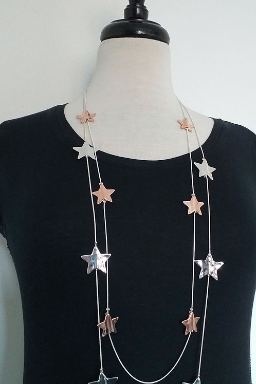 Multiple Stars Necklace