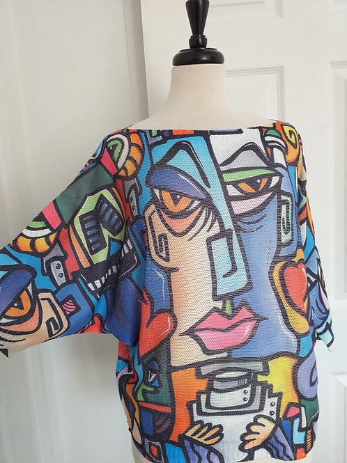 Picasso inspired Blouse