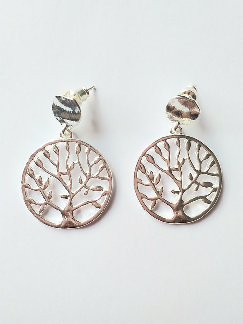Tree in Studd Earrings