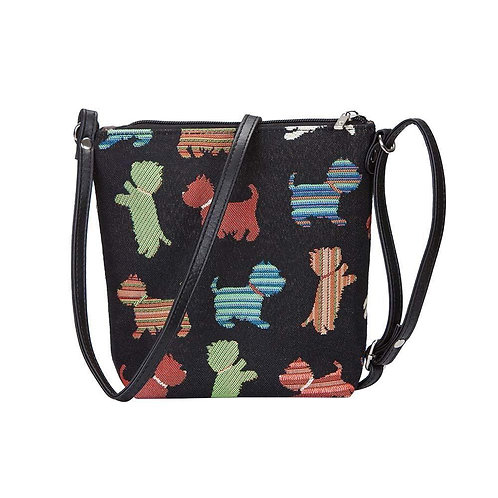 SMALL CROSSBODY BAG PLAYFUL PUPPY SLING SIGNARE