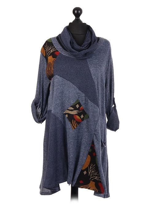 Langenlook Italian Top/Dress with scarf size 16-22